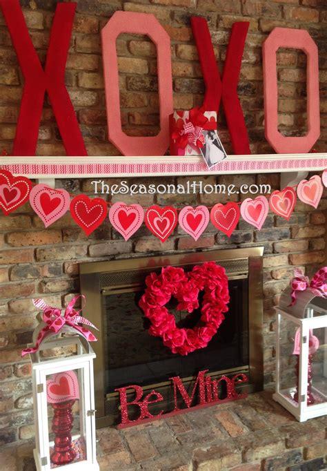 valentine kisses hugs diy decor gift idea