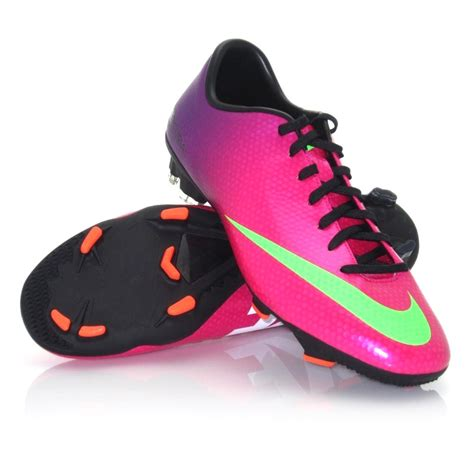 www football shoes nike mercurial victory iv fg mens football boots pink