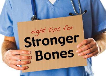 8 Tips To Make Your Bones Stronger by 8 Tips For Bones Stronger Alternatives For Seniors