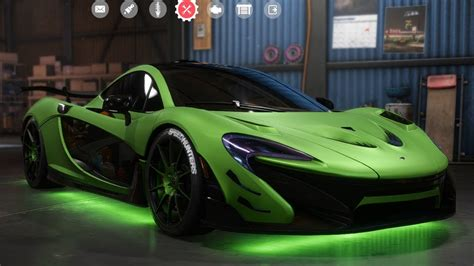 Customized Mclaren P1 by Need For Speed Payback Mclaren P1 Customize Tuning