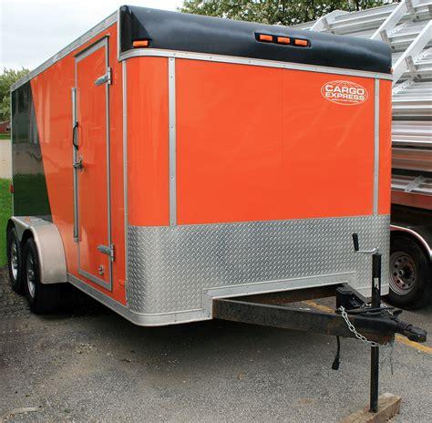 Orange Lawn Chairs 7 X14 Enclosed Utility Amp Motorcycle Trailer Rental Iowa City
