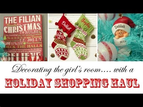 copper room decor haul lifewithchloe youtube decorating the girls room with a holiday haul from