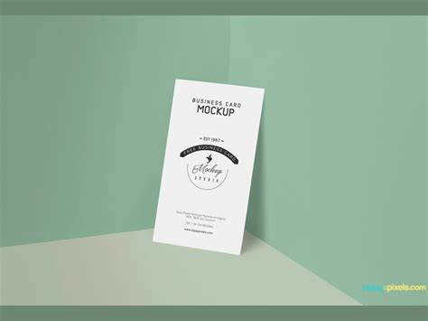 Card Mockup Template by 21 Free Hi Res Business Card Mockups Hongkiat