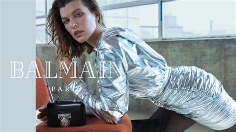 milla jovovich interview 2018 balmain unveils fall 2018 video caign with milla