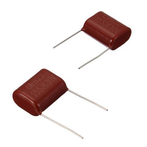 a lossy capacitor 10pcs cbb capacitor 630v 155j 1 5uf metallized polypropylene capacitor alex nld