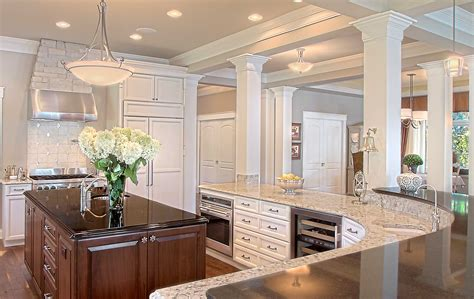 kitchen islands with posts universal design is for everyone thelen total construction