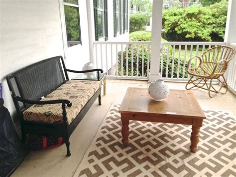 Hometalk Porch Makeover On A Budget Patio Furniture Ideas On A Budget