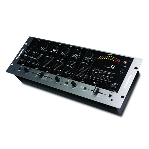 Mixer Equalizer C2 Fourchannel Rack Mixer With Fiveband Eq