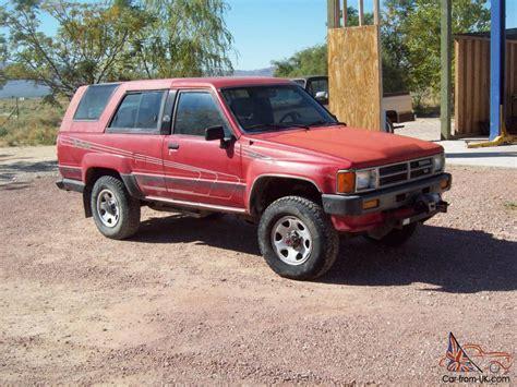 1985 Toyota Sr5 For Sale 1985 Toyota 4runner Sr5