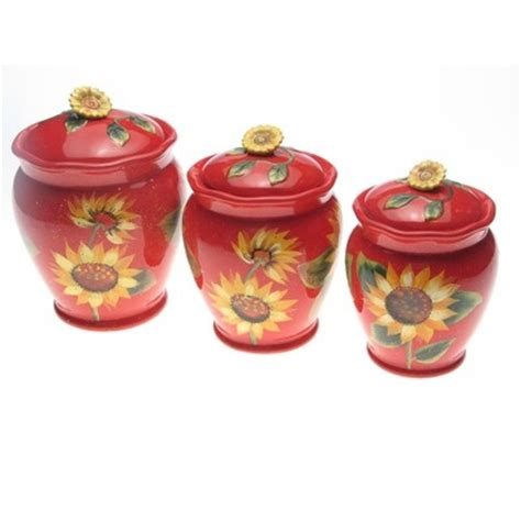 sunflower canisters for kitchen 29 best images about kitchen on pinterest canister sets