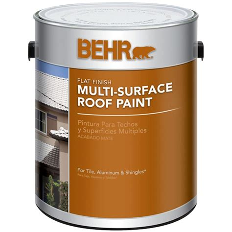coupons for behr paint 1 gal white reflective flat multi surface roof paint 06501