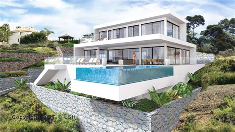 modern villas new modern villa in los flamingos golf resort benahavis
