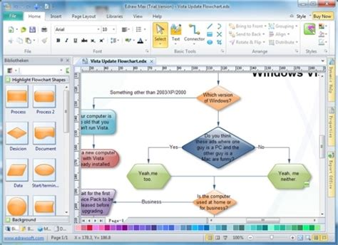Best Paid And Free Flow Chart Makers Microsoft Office Flowchart Template