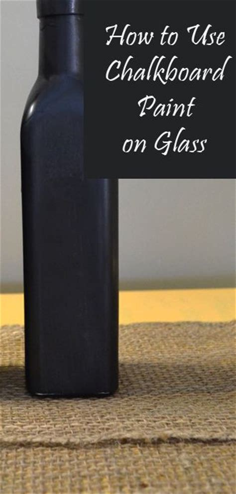 chalkboard paint for glass how to use chalkboard paint on glass creative sprays
