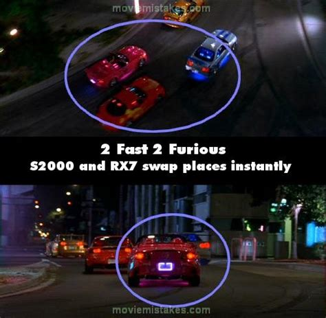 fast and furious bloopers 2 fast 2 furious movie mistake picture 12