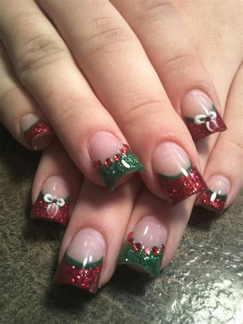 images of christmas nails 25 most beautiful and elegant christmas nail designs