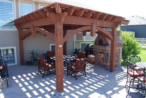 Your Own Beautiful New Backyard In One Afternoon Western Timber Frame Pergola Kits