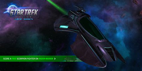 Star Trek Online Free Giveaway - giveaway star trek online free scorpion fighter razer insider forum