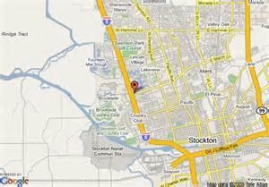 us map stockton california map of comfort inn stockton stockton