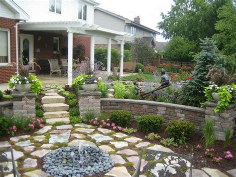 Above Ground Garden Ideas Above Ground Pool Removed And Turned Into A Sunken Garden Decorating Ideas Pinterest