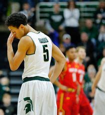 detroit news sports section msu squanders leads in double ot loss to maryland