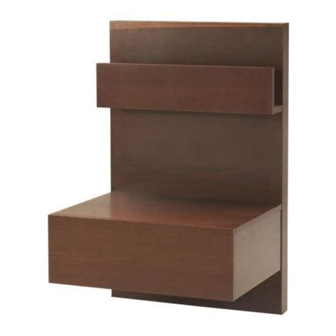 Malm Floating Nightstand malm nightstand medium brown ikea home ideas