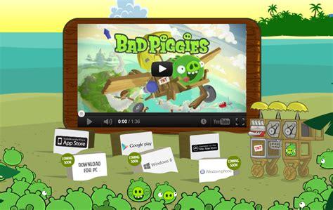 Permainan Bad rovio merilis bad piggies untuk android ios dan mac