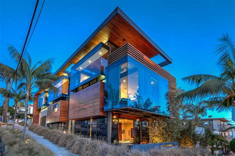 Coastal Home Floor Plans This Modern Marvel By Patrick Killen In Manhattan Beach Is