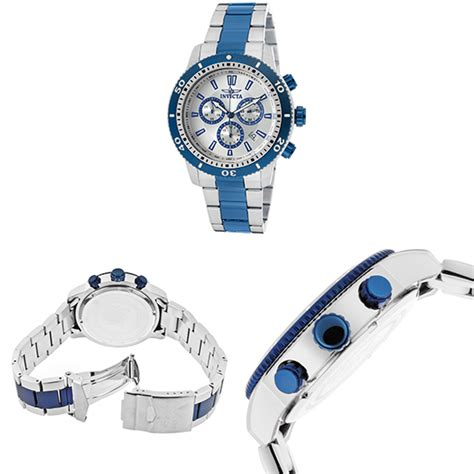 Steel Blue List Silver invicta specialty s watches
