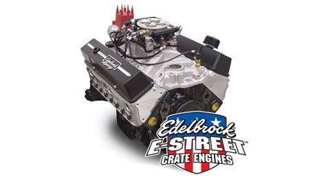 edelbrock crate motors edelbrock e efi small block chevy crate engine