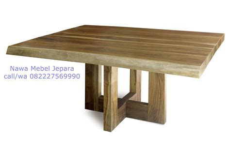 Meja Kayu Untuk Cafe meja cafe balok mewah kayu jati jual meja dan kursi