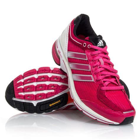 adidas adizero boston  womens running shoes pink