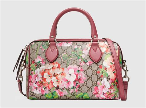 Secret Flower Totebag Looks Like Original 23 gorgeous accessory gifts from gucci for 2015 purseblog