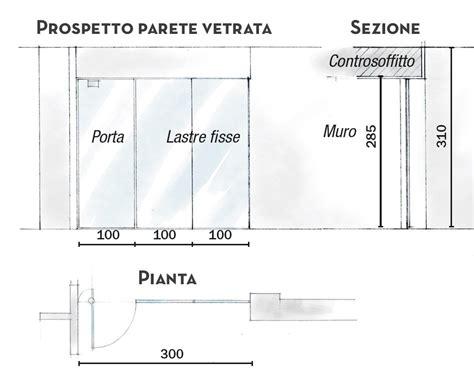 Muro Di Vetro by 110 Mq Con Una Parete In Vetro Per Dividere Soggiorno E