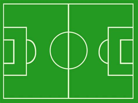 football drawing template football pitch template clipart best