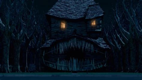 the monster house in tse it states how the animatronics quot looked more real
