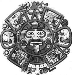 Calendario Azteca Animales Ii Las Costumbres De Las Cargas