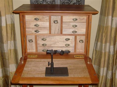free fly tying bench plans fly tying desk finished by leighty6 lumberjocks com