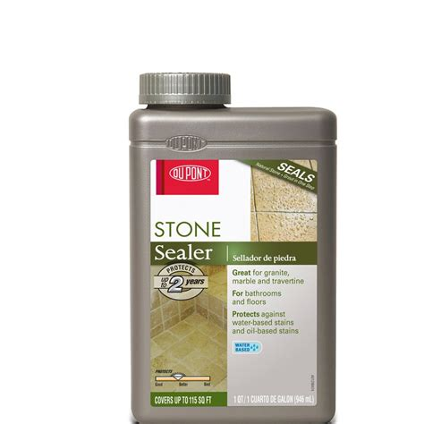 shop dupont stone and tile sealer at lowes com
