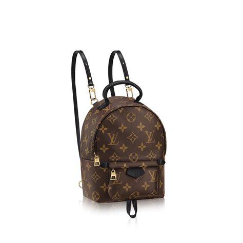Lv Palm Small palm springs backpack mini monogram canvas fashion show selection louis vuitton