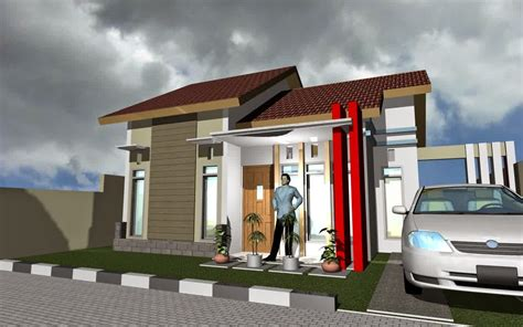 desain rumah type 60 kumpulan desain rumah minimalis type 60