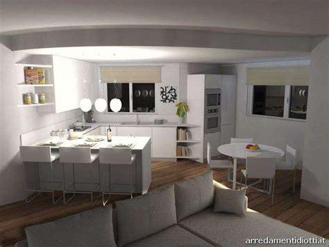 Cucina Con Soggiorno by Cucina Con Soggiorno Foto 37 41 Design Mag