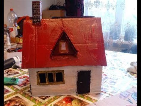 huis van karton hoe maak je een huis van karton youtube