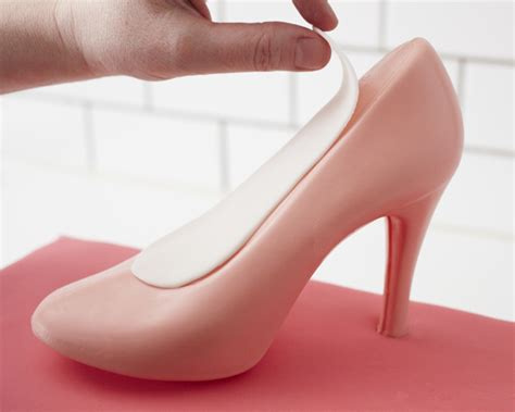 high heel fondant shoe template best photos of high heel template gum paste fondant high