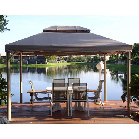 replacement awnings for gazebos superstore bond 10 x 12 gazebo canopy replacement garden