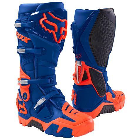 Sepatu Motocross Fox Insting botas de motocross fox instinct offroad azul 2018 calzado para moto motoblouz es