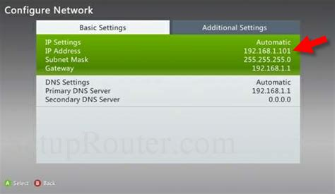 Xbox Live Ip Address Finder Static Ip Address For Xbox 360