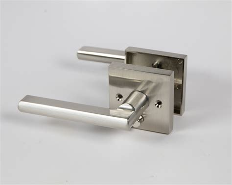 Interior Door Handles Toronto Halifax Square Door Handle Lever Lock Set With Push Button And Emergency Egress Toronto Door
