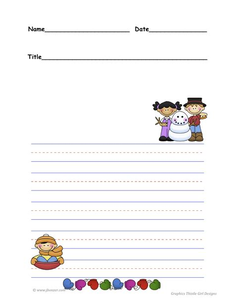 winter writing paper winter writing templates new calendar template site