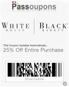 white house black market coupons for passbook
